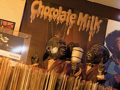 沖縄のソウルバー チョコレートミルク
