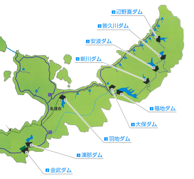 鳥 辺 野 地図