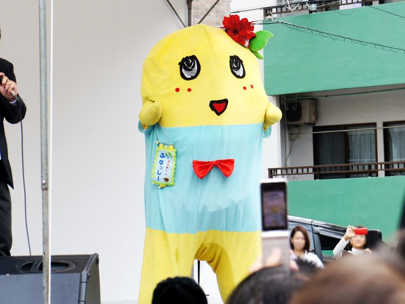 ふなっしーが那覇市にやって来る! ふなっしーが那覇市にやって来る! 沖縄ニュース
